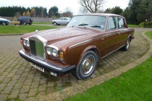 1980(W) ROLLS ROYCE SILVER SHADOW 11. VERY LATE MODEL. GOOD SOLID CAR