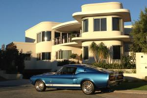 1967 Shelby Mustang GT350 4 SPD Acapulco Blue Original  Photo