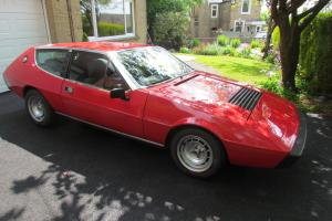 Rare on the road classic Lotus Elite 503 1978 5 Speed Manual 2 Litre