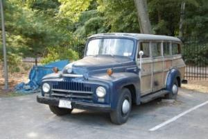 1952 International Woodie, truck based, rare, runs and drives, all original