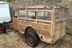 1934 Commer Woodie - Hot Rod/Rat Rod/Gasser/Woody Project inc 350ci V8, Box/axle