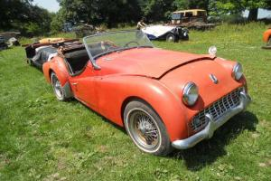 1960 Triumph TR3 A US Import For Restoration