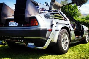 DeLorean Back to the Future Time Machine