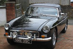 Mk1 MGB Roadster 1965 Black  Photo