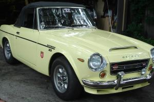 1969 Datsun Roadster Sports 2000, Excellent Condition Throughout