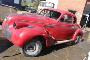RARE RIGHT HAND DRIVE ORIGINAL SPECIAL RED 1936 BUICK EIGHT