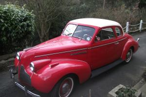 1939 BUICK SPECIAL 2 DOOR SPORTS COUPE