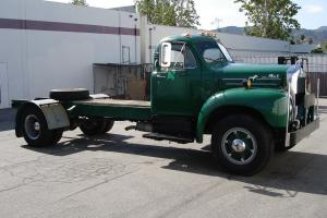 1955 MACK B30 CHASSIS AND CAB TRUCK