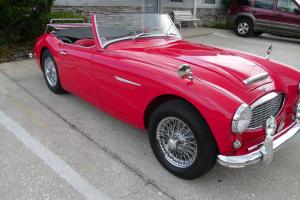 1962 AUSTIN HEALEY 3000 MK11, BT7 ROADSTER, RARE 3-CARB Photo