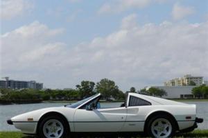 GTS Low Miles 2 dr Convertible Gasoline 3.2L V8 FI SOHC White