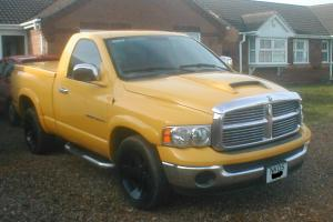 2005 DODGE RAM PICK-UP WITH BED TOP