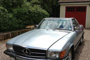 Mercedes 280 SL AUTO CONVERTIBLE 1984 Blue Immaculate Condition