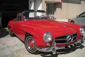 SUPERB MERCEDES 190 SL (1963)
