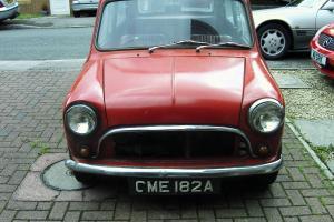 mk 1 mini austin 1963 1071 cooper s and gearbox 100