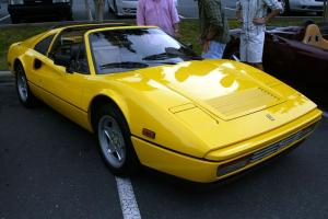 1986 Ferrari 328 GTS Giallo/Tobacco rare colors