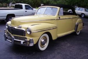 1947 Mercury Convertible, Correctly Restored to Original, Excellent Condition