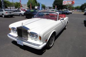 1981 Rolls Royce Corniche Convertible Photo