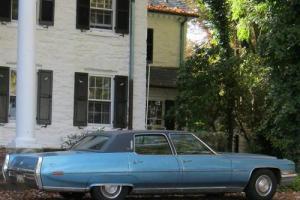 1971 Cadillac Fleetwood Broughham