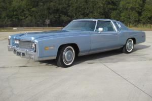 1977 Cadillac Eldorado Biarritz, 14,000 Original Miles, AACA National Winner