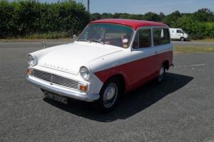 1965 /C Hillman HUSKY 1390CC. RED/WHITE MOT