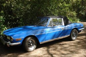 1978 TRIUMPH STAG AUTO BLUE