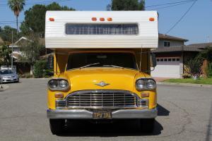 1965 Checker Marathon Taxi Cab Custom Camper Conversion RV