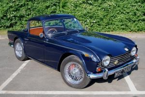 Triumph TR5, UK RHD car, Heritage Certificate, Photo restoration, Engine rebuild