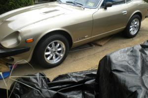 1978 DATSUN 280Z GOLD WITH GHOST FRAMES ORIGIDAL ENGINE LOW MILES ALWAYS GARAGED