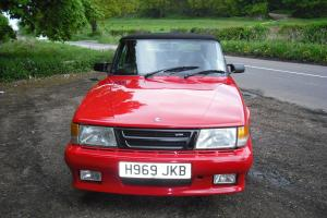 saab t16s aero convertible full pressure turbo. relisted due to time waster..  Photo