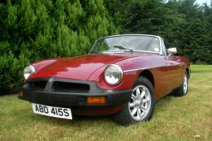 1978 MG B ROADSTER CLASSIC CAR ONLY 66,00 MILES.....