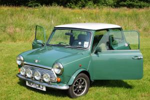 1996 Rover Mini Cooper 35, Rare Special Edition, Green / White, Leather