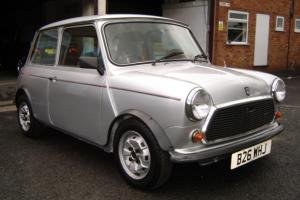 1984 AUSTIN MINI 25 SILVER RARE LOW-MILEAGE LIMITED EDITION CLASSIC MINI