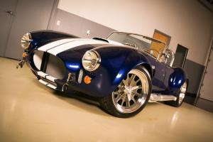 *NEW* BACKDRAFT RT3 427 REPLICA ROADSTER FORD V8 565HP OPTIONED BLUE WARRANTY Photo