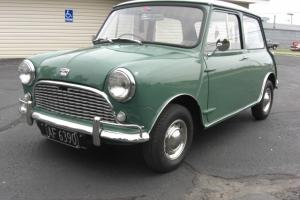 1963 Austin Mini MkI Series with 998 cc Cooper Engine   New Zealand Import