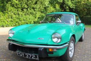 Triumph GT6 MK3 (1971) with 2005 Full Body-off Restoration and Engine Rebuild