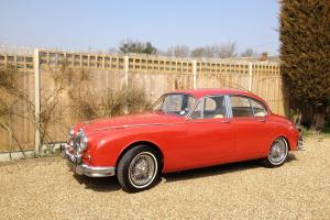 Jaguar Mark 2 3.4 manual with overdrive