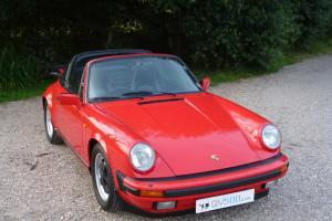 1988 Porsche 911 3.2 Carrera Targa - 56k miles