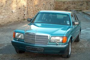 1991 MERCEDES 560 SEL AUTO TURQUOISE, RARE FULL SPEC, 50,400 Miles, Beautiful