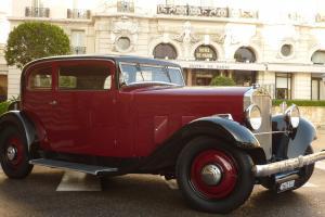 DELAGE D6 -11 Grande Routiere as Bugatti, Delahaye, Hispano-Suiza, 1933 coach Photo