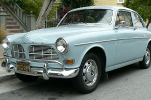 NO RESERVE 1966 Volvo 122S Amazon Two Door Coupe CA Black Plate Horizon Blue