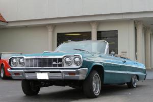 Stunning 1964 Impala Ragtop Convertible Dayton Wheels Hydraulics Selling Cheap