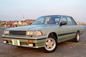 1988 NISSAN / DATSUN LAUREL SGX 2.4 MANUAL GREEN - 35,000 MILES - RARE CAR - RWD
