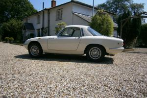 Lotus Elan S3 SE 1967 FHC Fully Restored Original Car