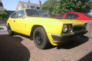 RELIANT SCIMITAR GTE YELLOW GREAT CAR WANT MOTORCYCLE DEL POSS