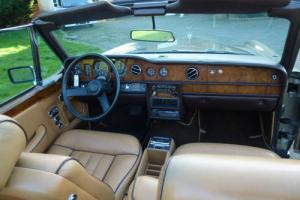 1978 ROLLS ROYCE CORNICHE CONVERTIBLE (LEFT HAND DRIVE)  Photo