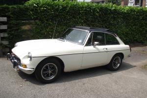1978 MG B GT WHITE