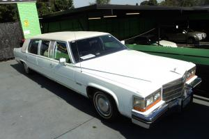 1983 Cadillac DE Ville D Elegance Stretch Limousine Limo NO Reserve  Photo