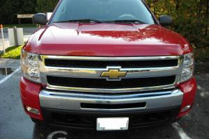 Victory Red Excellent Condition Like NEW Silverado Crew Cab