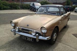 1963 Sunbeam ALPINE Series 3 model very rare 1592cc Petrol