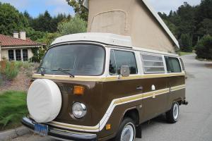 1978 VW Champagne Edition Westfalia OG PAINT-LIKE NEW